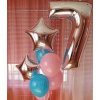 Шары на день рождения 7 лет