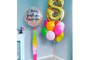Шары на День Рождения девочке 8 лет