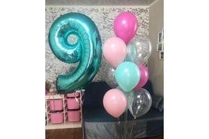 Шары на День Рождения ребенку 9 лет