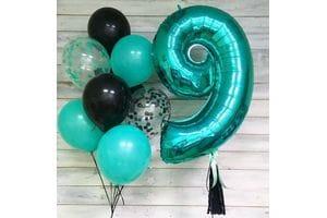 Шары на День Рождения мальчику 9 лет