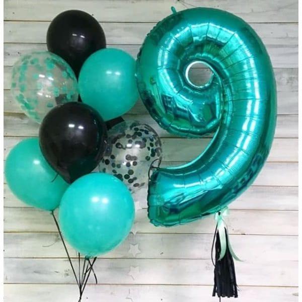 Воздушные шары. Доставка в Москве: Шары на День Рождения мальчику 9 лет Цены на https://sharsky.msk.ru/