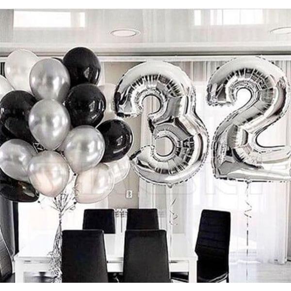 Воздушные шары. Доставка в Москве: Шарики на 32 года Цены на https://sharsky.msk.ru/