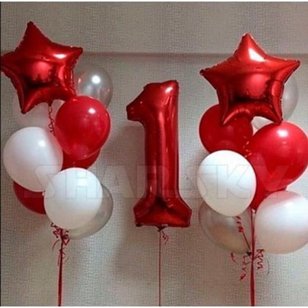 Воздушные шары. Доставка в Москве: Шары на День Рождения девочке 1 год Цены на https://sharsky.msk.ru/