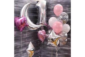 Воздушные шары на годовасие