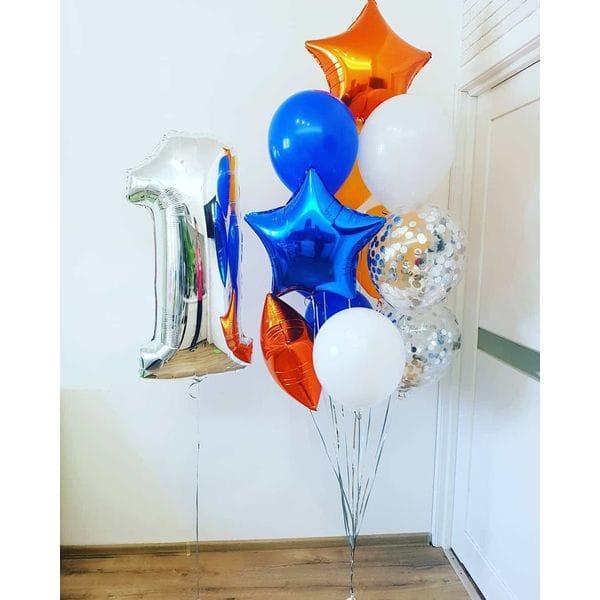 Воздушные шары. Доставка в Москве: Воздушные шары на год ребенку Цены на https://sharsky.msk.ru/
