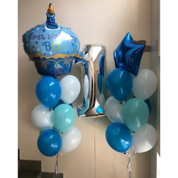 Воздушные шары. Доставка в Москве: Шары на День Рождения 1 годик Цены на https://sharsky.msk.ru/