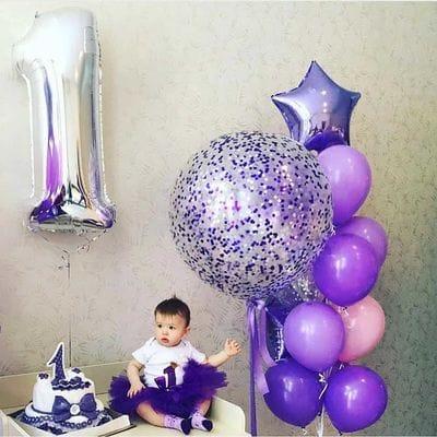 Шарики на День Рождения 1 годик девочке
