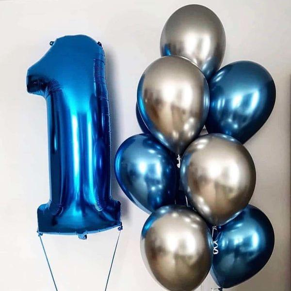 Воздушные шары. Доставка в Москве: Шары на День Рождения мальчику 1 год Цены на https://sharsky.msk.ru/