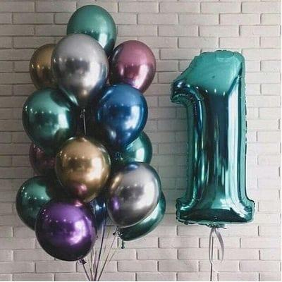 Воздушные шары на 1 годик