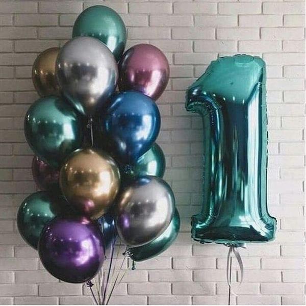 Воздушные шары. Доставка в Москве: Воздушные шары на 1 годик Цены на https://sharsky.msk.ru/