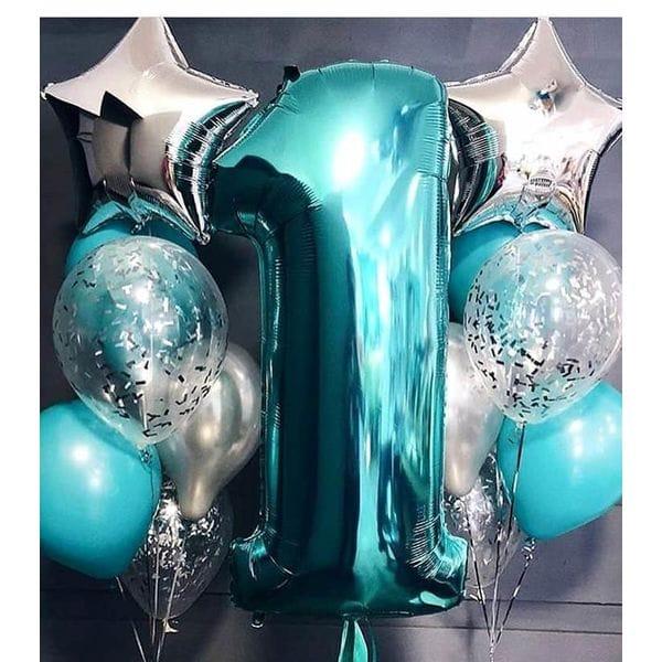 Воздушные шары. Доставка в Москве: Шарики на День Рождения 1 годик Цены на https://sharsky.msk.ru/