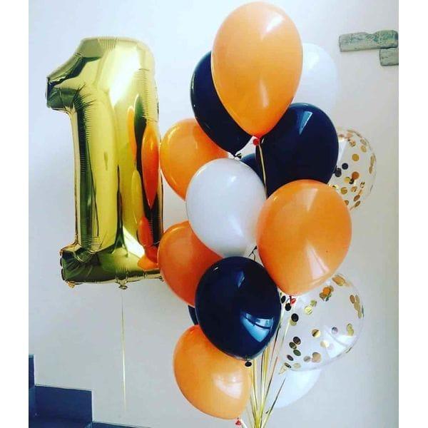 Воздушные шары. Доставка в Москве: Шарики на День Рождения ребенку 1 год Цены на https://sharsky.msk.ru/