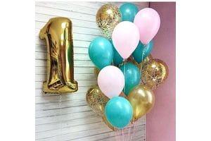 Воздушные шары на 1 год