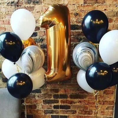 Воздушные шары 1 год