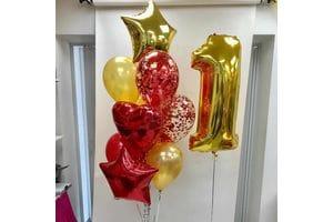Воздушные шары на год