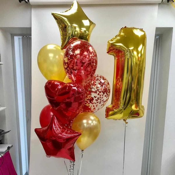 Воздушные шары. Доставка в Москве: Воздушные шары на год Цены на https://sharsky.msk.ru/