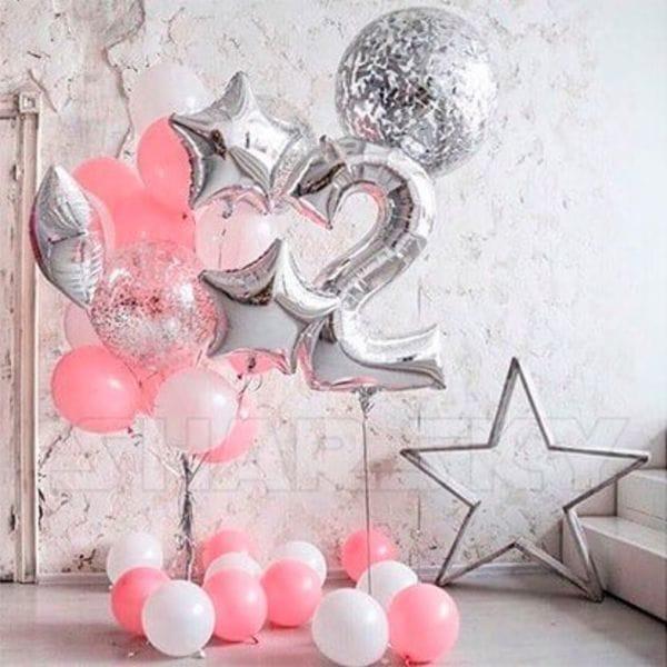 Воздушные шары. Доставка в Москве: Шарики на День Рождения ребенку 2 годика Цены на https://sharsky.msk.ru/