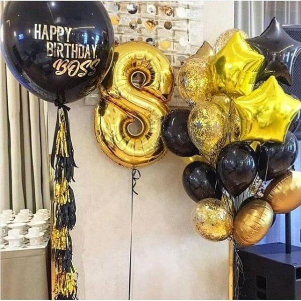 Воздушные шары. Доставка в Москве: Шары на День Рождения 8 лет Цены на https://sharsky.msk.ru/
