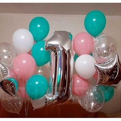 Надувные шары на 1 год