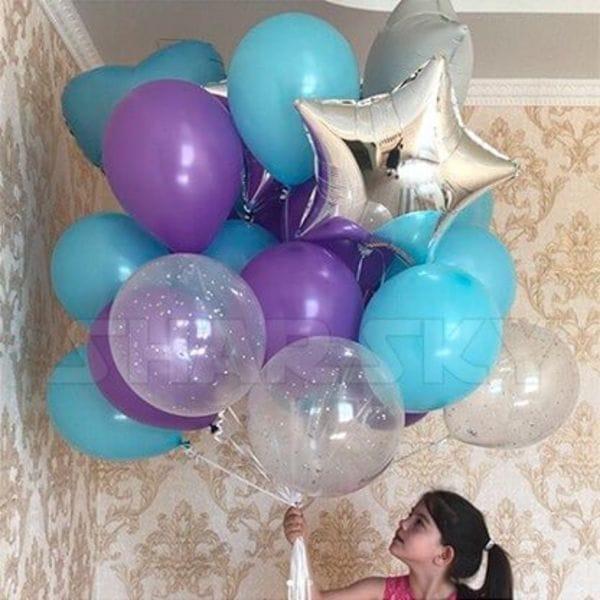 Воздушные шары. Доставка в Москве: Праздничный букет шаров Цены на https://sharsky.msk.ru/