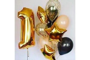 Воздушные шары на годик