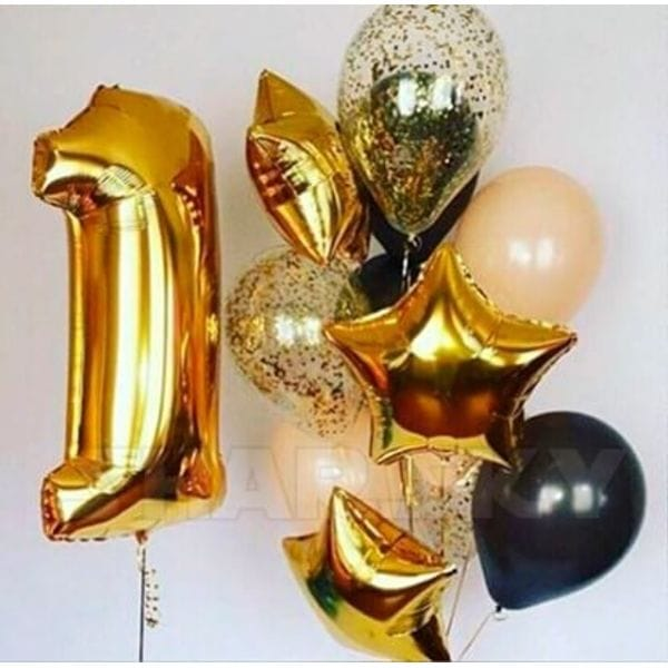 Воздушные шары. Доставка в Москве: Воздушные шары на годик Цены на https://sharsky.msk.ru/