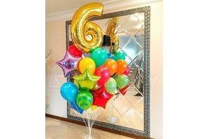 Шары на День Рождения 6 лет