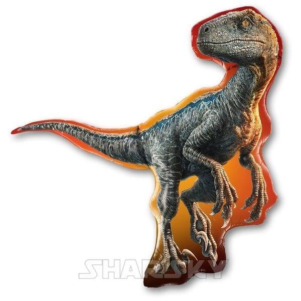 """Воздушные шары. Доставка в Москве: Шар """"Динозавр"""", 95 см Цены на https://sharsky.msk.ru/"""