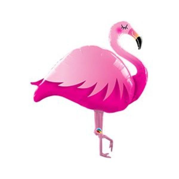 """Воздушные шары. Доставка в Москве: Шар """"Фламинго"""" розовый , 105 см Цены на https://sharsky.msk.ru/"""