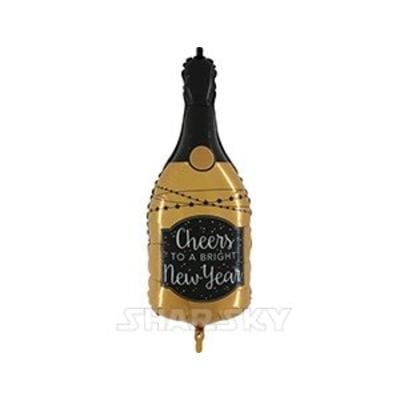 """Шар """"Новогоднее шампанское"""", 91 см"""