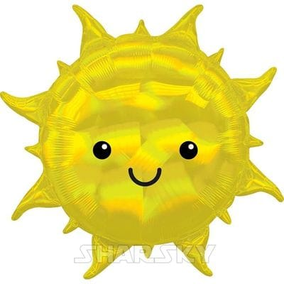 "Шар ""Солнце перламутровое"", 68 см"