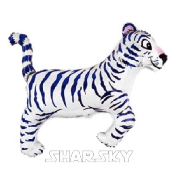 """Воздушные шары. Доставка в Москве: Шар """"Белый тигр"""", 85 см Цены на https://sharsky.msk.ru/"""