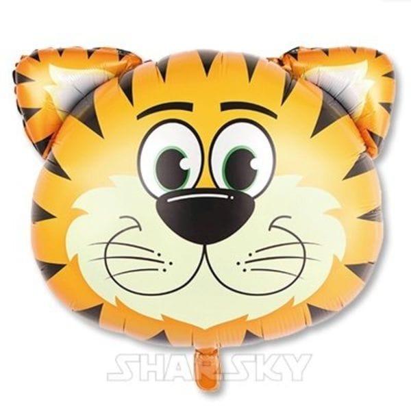 """Воздушные шары. Доставка в Москве: Шар """"Голова тигренка"""", 74 см Цены на https://sharsky.msk.ru/"""