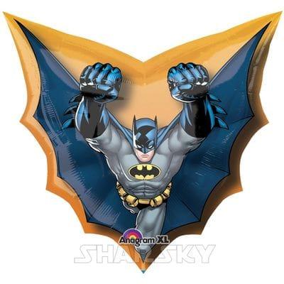 """Шар """"Бэтмен в полете"""", 81 см"""