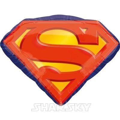 "Шар ""Эмблема Супермена"", 66 см"