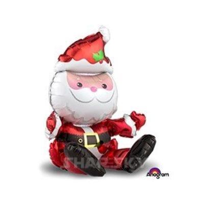 """Шар """"Санта сидячий"""", 81 см"""