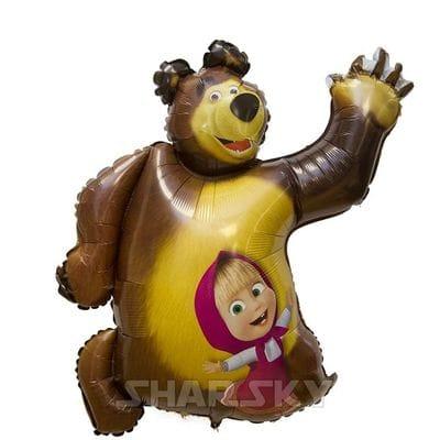 "Шар ""Маша и Медведь"", 89 см"