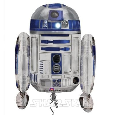 "Шар ""R2D2"" Звездные Войны, 63 см"