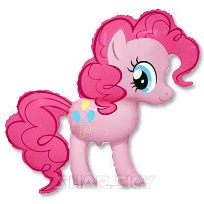 """Шар """"Литл пони розовый"""", 104 см"""