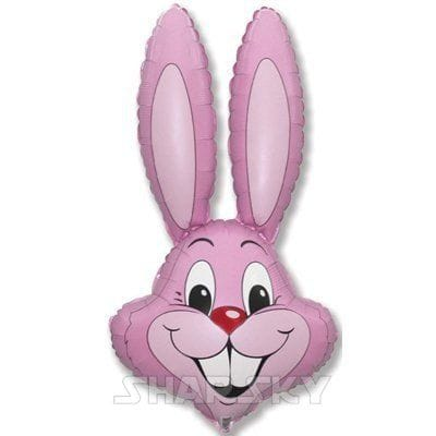 """Шар """"Розовый кролик"""", 90 см"""