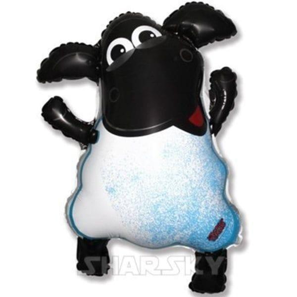 """Воздушные шары. Доставка в Москве: Шар """"Веселая овечка"""", 63 см Цены на https://sharsky.msk.ru/"""