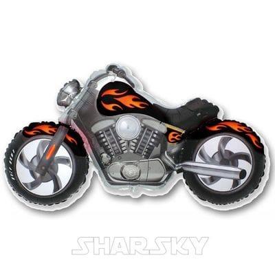 "Шар ""Мотоцикл Харлей"", 114 см"