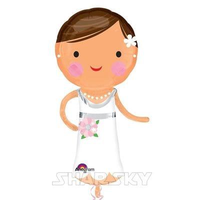 """Шар """"Невеста"""", 63 см"""