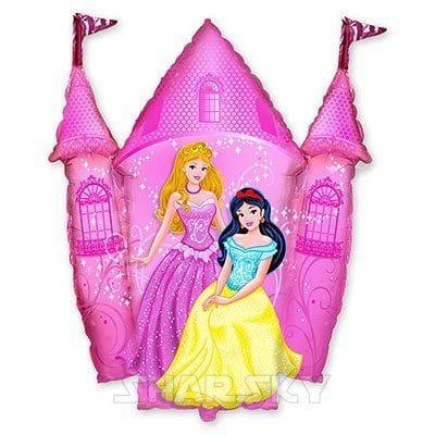 """Шар """"Принцессы в розовом замке"""", 87 см"""