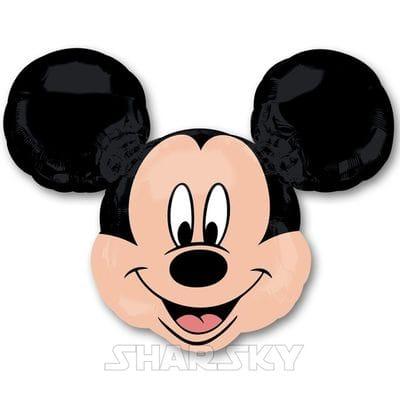 "Шар ""Голова Микки Мауса"", 84 см"
