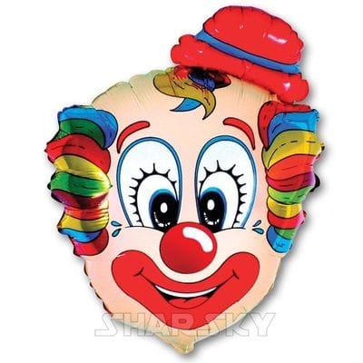 "Шар ""Клоун"", 75 см"