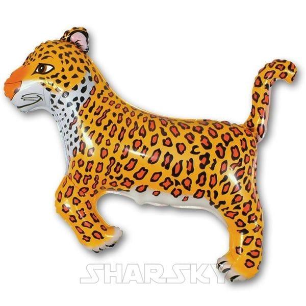 """Воздушные шары. Доставка в Москве: Шар """"Леопард"""", 90 см Цены на https://sharsky.msk.ru/"""