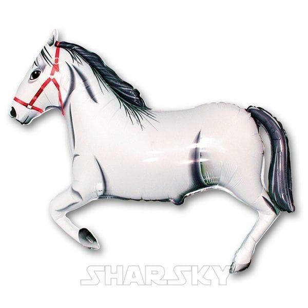 """Воздушные шары. Доставка в Москве: Шар """"Лошадь"""", 107 см Цены на https://sharsky.msk.ru/"""