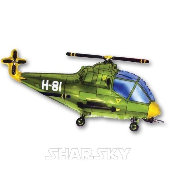 """Воздушные шары. Доставка в Москве: Шар """"Вертолет"""", 96 см Цены на https://sharsky.msk.ru/"""