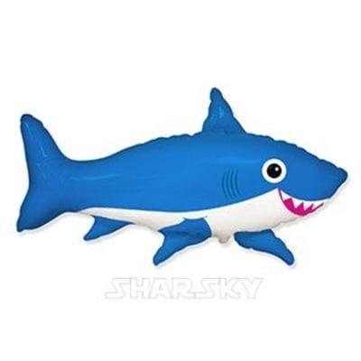 """Шар """"Акула"""" веселая, 105 см"""